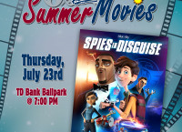 Spies In Disguise To Play At TD Bank Ballpark On Thursday, July 23rd