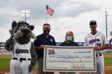 Somerset Patriots Raise $16,000 For RWJBarnabas Health