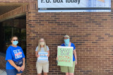 Local Women Participate In 'Day Of Action' For Postal Service