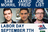 """A Night of Comedy"" at TD Bank Ballpark With Sam Morril, Jared Freid, and Joe List"
