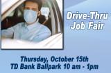 Drive-Thru Job Fair At TD Bank Ballpark On October 15th