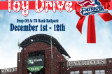 Holiday Toy Drive At TD Bank Ballpark December 1st – 12th