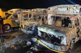 Montauk School Buses Damaged By Fire In Yard