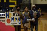 Lady Warrior Basketball Seniors Honored