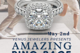 $10,000 Diamond Engagement Ring Is Grand Prize Of Venus Jewelers Contest