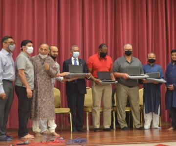 Jain Center Of NJ Donates Chromebooks To Board Of Education