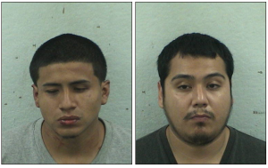Luis Carreon, left, and Pablo Hernandez-Garcia, both of Somerset, were indicted on attempted murder, weapons and drug charges. Photos courtesy of the Somerset County Prosecutor's Office.