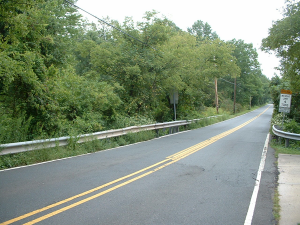 This bridge on Bennetts Lane is slated for replacement by Somerset County.