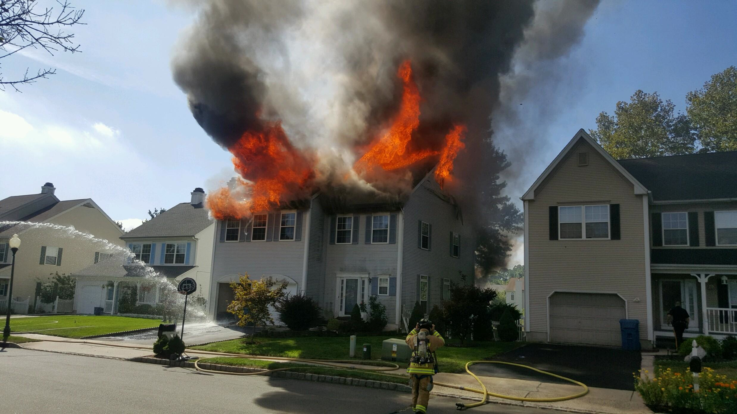 updated morning fire guts marco polo court home the franklin reporter advocate. Black Bedroom Furniture Sets. Home Design Ideas
