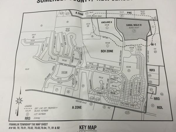 Canal Walk plan