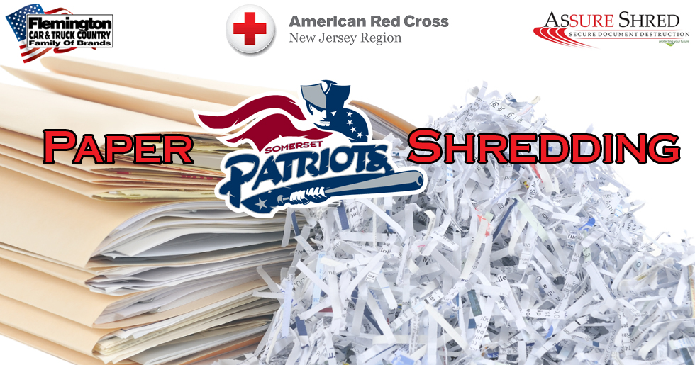 Somerset Patriots To Host Free Paper Shredding Event To