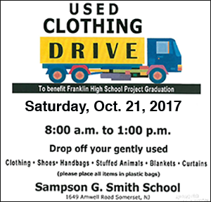 Project Graduation Clothes Drive