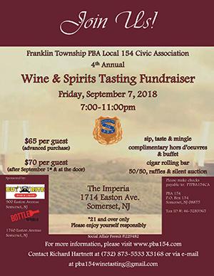 2018 Franklin PBA Fundraiser